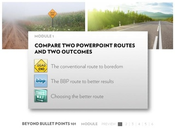 Module 1: Comparing Two PowerPoint Routes