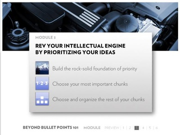 Module 3: Revving Your Intellectual Engine by Prioritizing