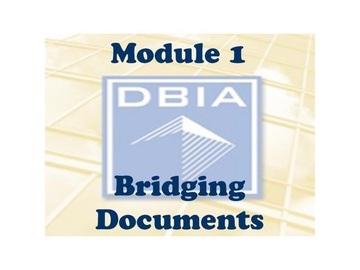 BD - Module 1 - Bridging Defined