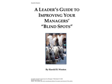 "A Leader's Guide to Improving Your Managers' ""Blind Spots"""