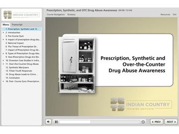 Prescription, Synthetic, and Over-the-Counter Drug Abuse Awareness Course
