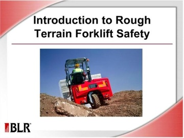 Introduction to Rough Terrain Forklift Safety