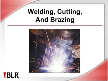 Welding, Cutting, and Brazing
