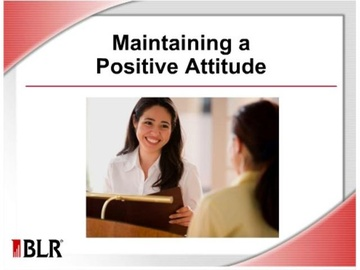 Maintaining A Positive Attitude