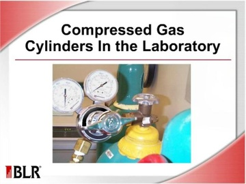 Compressed Gas Cylinders in the Laboratory