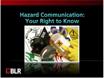 Hazard Communication: Your Right to Know