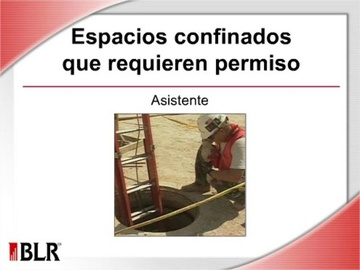 Espacios confinados que requieren permiso-Asistente (Permit-Required Confined Spaces--Attendant)