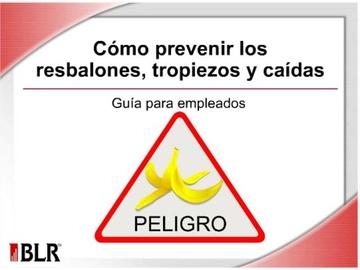 Cómo Prevenir los Resbalones, Tropiezos y Caídas (Preventing Slips, Trips, and Falls)