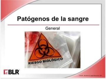 Patógenos de la sangre - General (Bloodborne Pathogens - General)