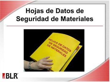 Hojas de Datos de Seguridad de Materiales (Material Safety Data Sheets)
