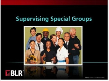 Supervising Special Groups