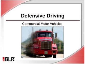 Defensive Driving - Commercial Motor Vehicles