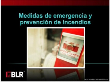 Medidas de Emergencia-Prevención de Incendios (Emergency Action and Fire Prevention)