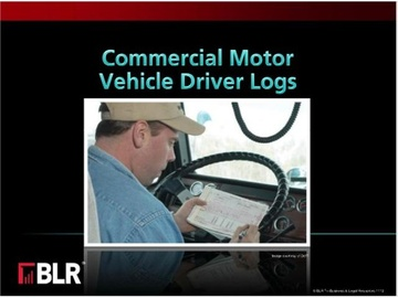 Commercial Motor Vehicle Driver Logs