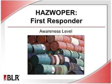 HAZWOPER - First Responder Awareness Level
