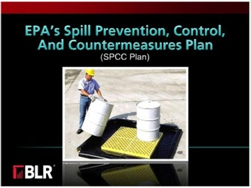 EPA's Spill Prevention, Control, and Countermeasures Plan (SPCC Plan)
