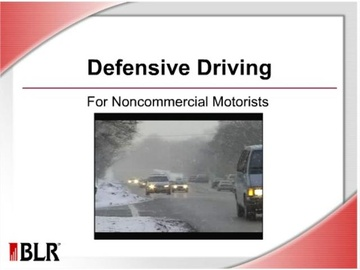 Defensive Driving for Noncommercial Motorists Course