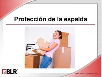 Protección de la Espalda (Back Safety) Course