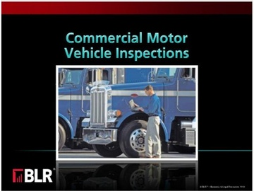 Commercial Motor Vehicle Inspections Course