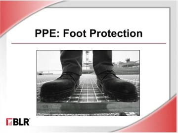 PPE Foot Protection Course