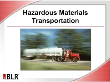 Hazardous Materials Transportation Course