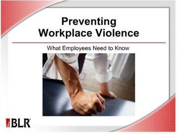Preventing Workplace Violence - What Employees Need to Know Course