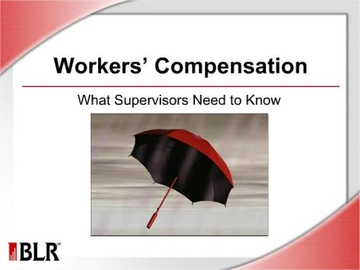 Workers' Compensation - What Supervisors Need to Know Course