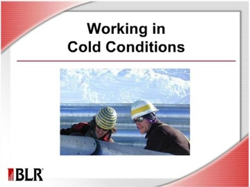 Working in Cold Conditions Course