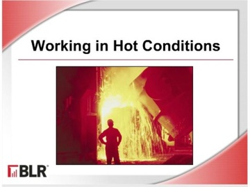 Working in Hot Conditions Course
