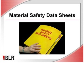 Material Safety Data Sheets Course