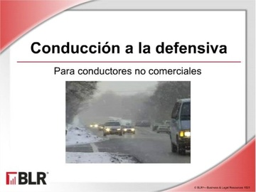 Conducción a la Defensiva-No Comerciales (Defensive Driving for Noncommerical Motorists) Course
