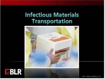 Infectious Materials Transportation Course