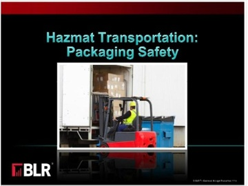 Hazmat Transportation - Packaging Safety Course