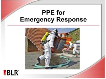 PPE for Emergency Response Course