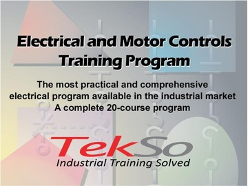 Electrical and Motor Controls Training Program. 20-Course Program 7000---S