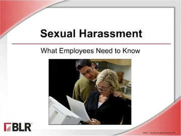 Sexual Harassment - What Employees Need to Know Course