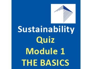 Design-Build and Sustainability - Quiz Module 1