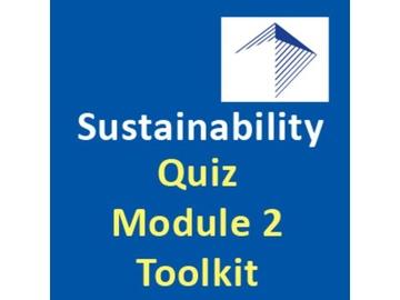 Design-Build and Sustainability - Quiz Module 2