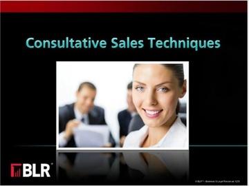 Consultative Sales Techniques