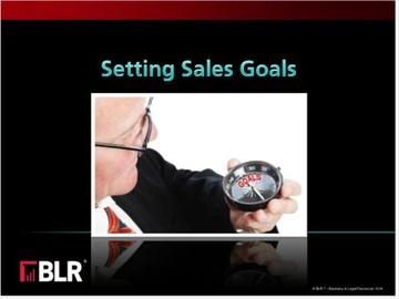 Setting Sales Goals