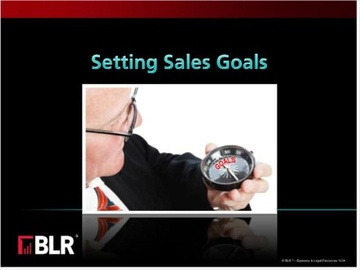 Setting Sales Goals Course