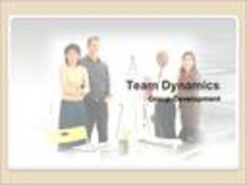 Team Dynamics Course