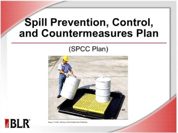 Spill Prevention, Control, and Countermeasure Plan (SPCC Plan) Course