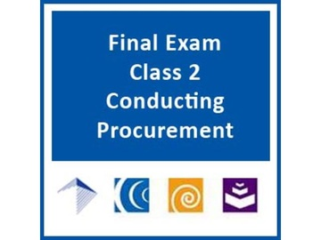 Conducting the Procurement Process for Design-Build and CMAR Water/Wastewater Infrastructure Projects - Final Exam