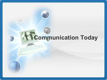 Communication Today Course