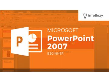 PowerPoint 2007 Introduction - Chapter 2: Getting Started output