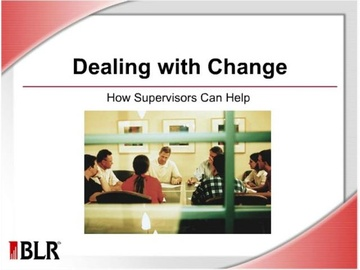 Dealing with Change: How Supervisors Can Help Course