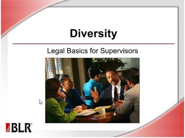 Diversity - Legal Basics for Supervisors Course