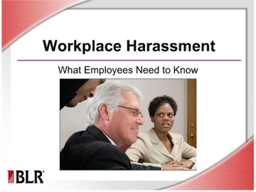 Workplace Harassment -- What Employees Need to Know Course