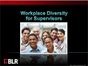 Workplace Diversity for Supervisors Course
